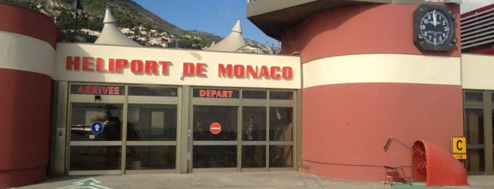 Héliport de Monaco is one of Monaco.