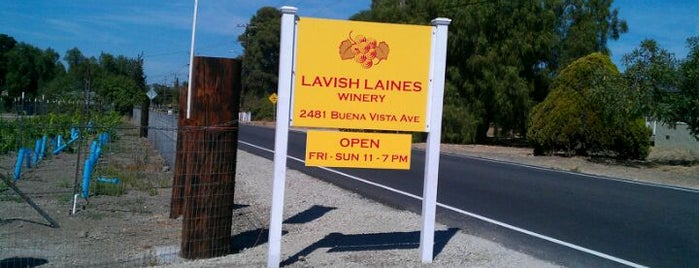 Lavish Laines Winery is one of Meet the Winemakers Trail.
