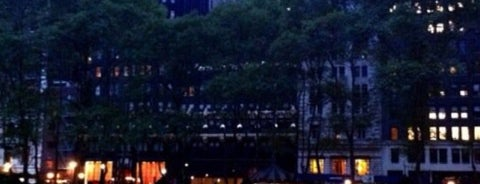 Bryant Park is one of Living New York.