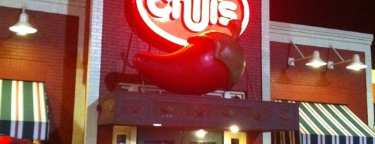 Chili's Grill & Bar is one of favorite places.