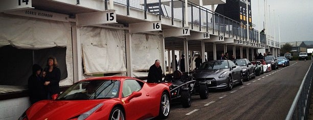 Goodwood Motor Racing Circuit is one of Georgie places to go/ things to do.