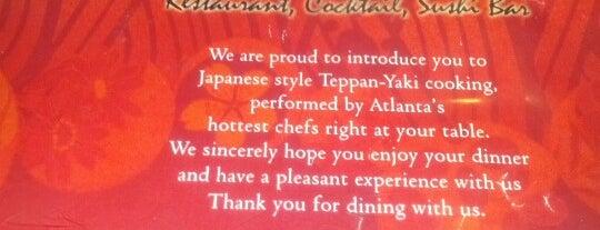 KiKu Japanese Steak & Seafood House is one of Let's Eat!.