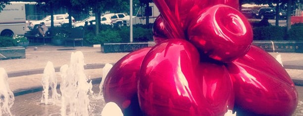 Jeff Koons Balloon Flower is one of NYC Monuments & Parks.