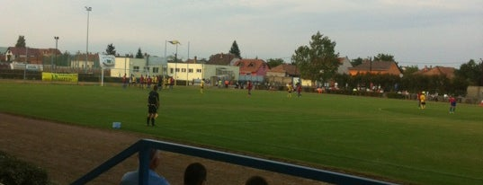Mezőkövesd Zsóry SE Sportpálya is one of Stadionok.