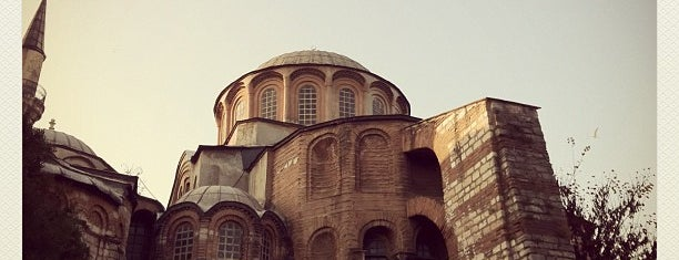 Chora Museum is one of İstanbul'daki Müzeler (Museums of Istanbul).