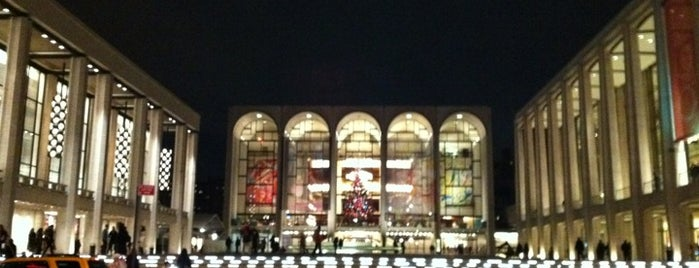 Lincoln Center for the Performing Arts is one of New York City.