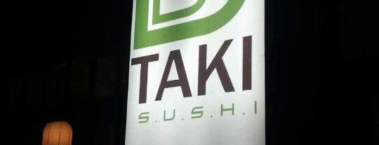 Taki Sushi is one of Bares.