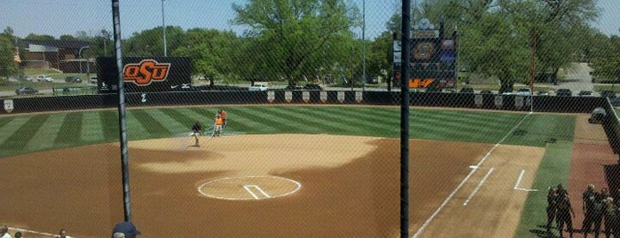 Cowgirl Stadium is one of Mike Gundy's Favorite Places.