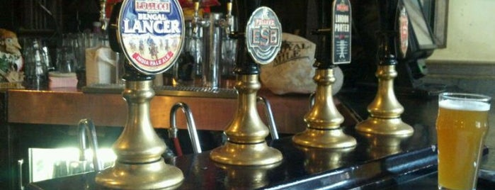 The Royal Mile is one of Draft Magazine Best Beer Bars.
