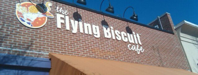 The Flying Biscuit is one of Raleigh Favorites.