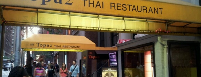 Topaz Thai is one of Favorite Spots to Eat.