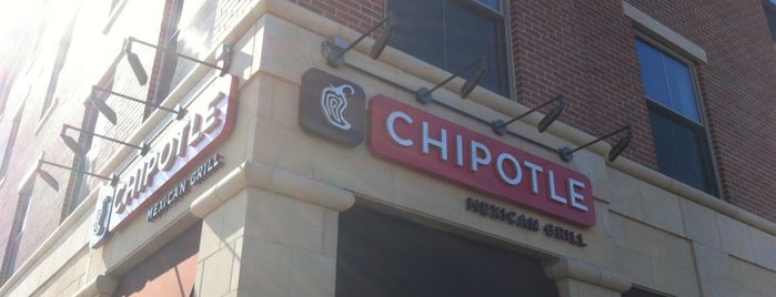 Chipotle Mexican Grill is one of Miami U.