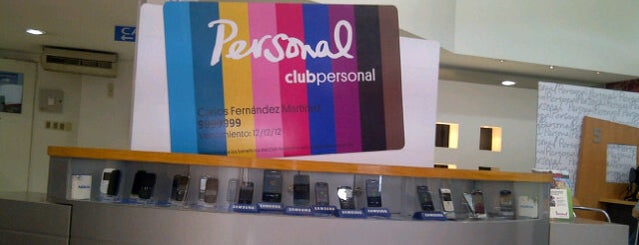 Personal is one of Oficinas de Personal Paraguay.