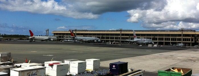 Daniel K. Inouye International Airport (HNL) is one of World Airports.