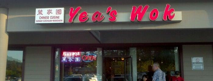 Yea's Wok is one of 20 favorite restaurants.