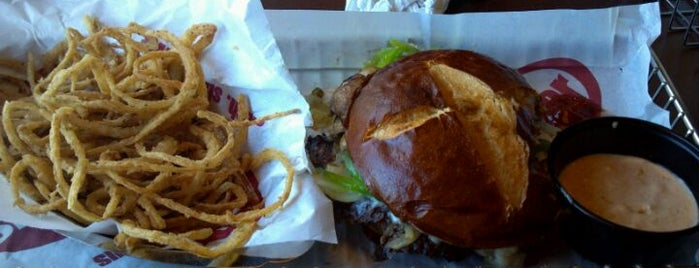 Smash Burger is one of Go! magazine taste test: upscale burger chains.