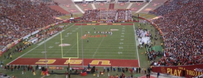 Los Angeles Memorial Coliseum is one of Great Sport Locations Across United States.