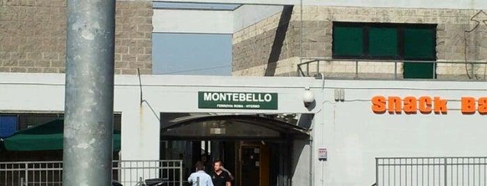 Montebello (linea Roma Nord) is one of Muoversi a Roma.