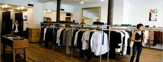 A.P.C. is one of Shop.