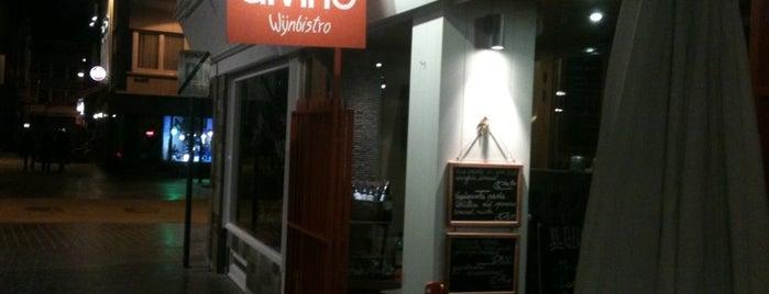 Wijnbistro DiVino is one of Oostende.