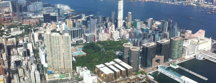 The Ritz-Carlton, Hong Kong is one of Stunning Views Around the World by Nokia.