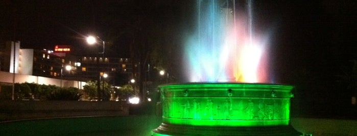 Electric Fountain is one of Favorite places.