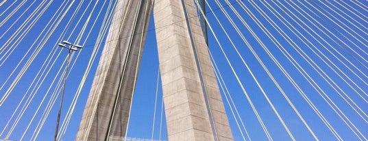 Ponte Octávio Frias de Oliveira (Ponte Estaiada) is one of SP.