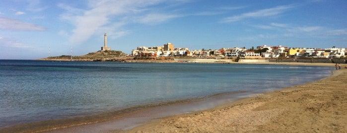 Cabo de Palos is one of Playas.