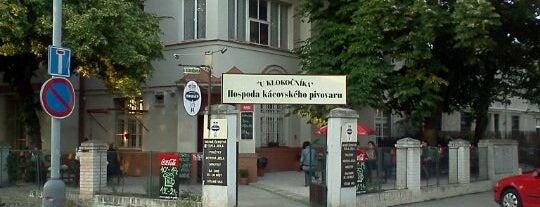 U Klokočníka is one of Pivní Poutník.