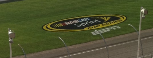 Michigan International Speedway is one of Great Sport Locations Across United States.