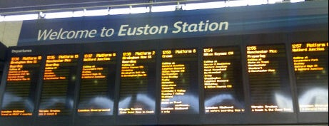 London Euston Railway Station (EUS) is one of My United Kingdom Trip'09.