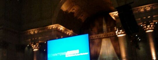 Cipriani Wall Street is one of NYC Restaurant Week Uptown.