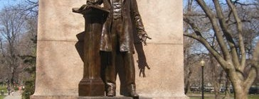 Wendell Phillips Statue is one of IWalked Boston's Public Art (Self-guided Tour).