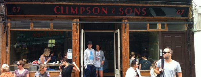 Climpson & Sons is one of London's Best Coffee.