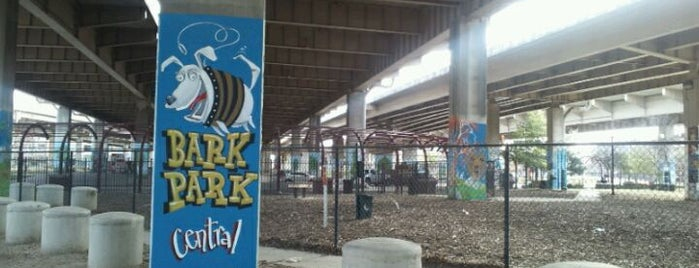 Bark Park Central is one of Pet-Friendly DFW.