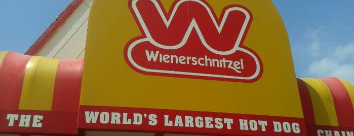 Wienerschnitzel is one of road trip.
