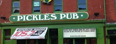 Pickles Pub is one of B-More's finest! Best of Baltimore! #visitUS.