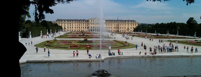 Schonbrunn Palace is one of My Wien.
