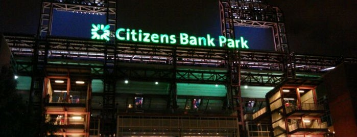 Citizens Bank Park is one of Sporting Venues To Visit.....