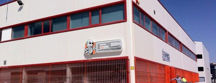 PCComponentes is one of Empresas tecnológicas.