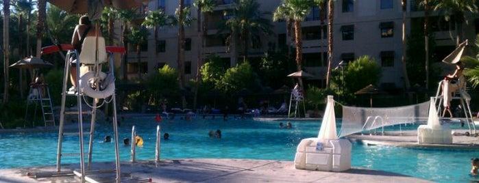 Tahiti Village Main Pool is one of The 15 Best Hotel Pools in Las Vegas.