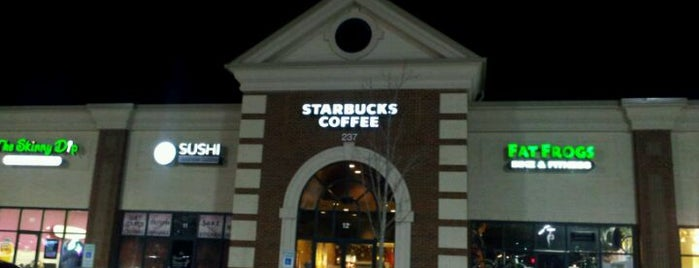 Starbucks is one of The coffee shops !.