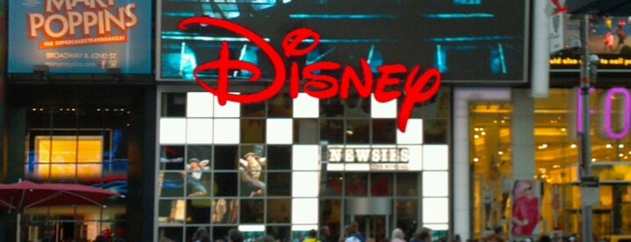 Disney Store is one of NY.
