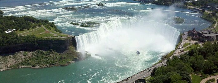 Niagara Falls (Canadian Side) is one of Canada Favorites.