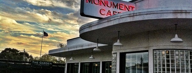 The Monument Café is one of Diners, Drive-Ins, and Dives- Part 2.