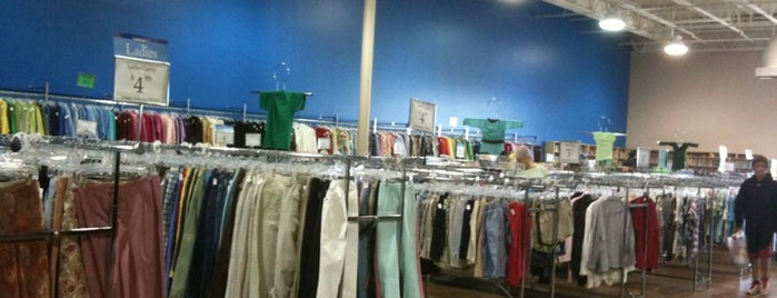 Goodwill is one of thrift and antiques.