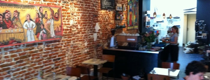 Aksum Coffee House is one of Brussels.