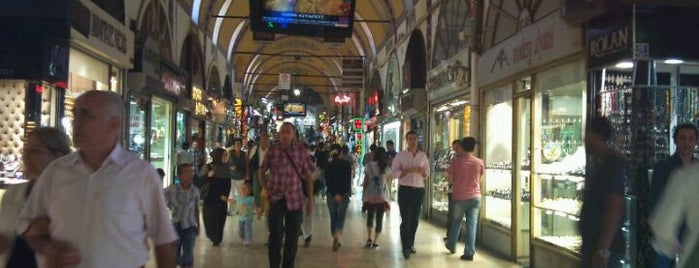 Grand Bazaar is one of Places of interest in Istanbul.