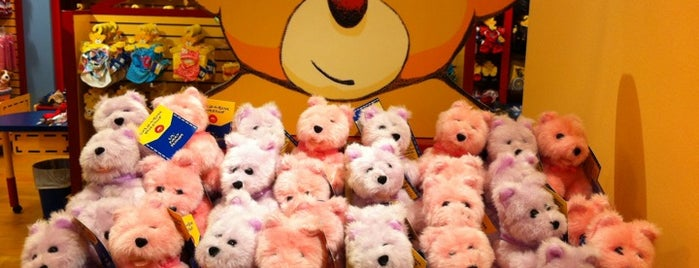 Build-A-Bear Workshop is one of Are you Late of Dinner?.