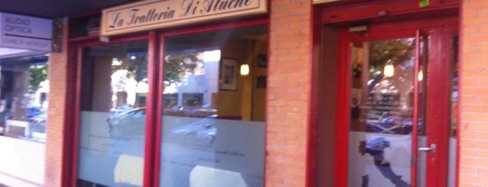 Trattoria Di Aluche is one of Restaurantes.